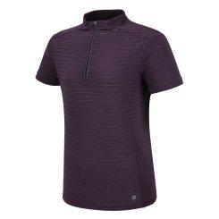 ZIPPER 포인트 반팔 짚업 티셔츠