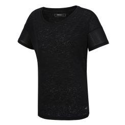 메쉬 믹스 슬럽 반팔 티셔츠(W)WT-M313