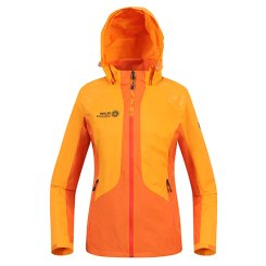 여성 라이트 팝 컬러 배색 바람막이 자켓   WS6SJP101_LO