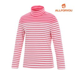 [올포유]여성 교차 터틀넥 티셔츠_AWQTF7147-403_G