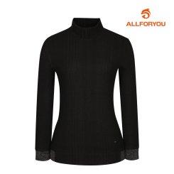[올포유]여성 기본 골지 하이넥 티셔츠 AWTHI8151-199_G
