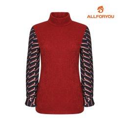 [올포유] 여성 저지 하이넥 티셔츠 AWTHH8R61-207_G