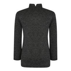 [올포유] 여성 체크 하이넥 티셔츠 AWTHH8152-190_G