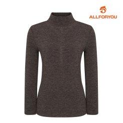 [올포유] 여성 핫픽스 하이넥 티셔츠 AWTHH8151-505_G