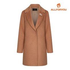 [올포유] 여성 브로치 캐시 코트 AWCTH8454-509_G