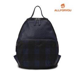 [올포유]여성 체크 배색 배낭 가방 AWABH7805-915_G