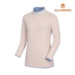 [올포유]여성 포인트 하이넥 티셔츠 AWTHI5164-508_G