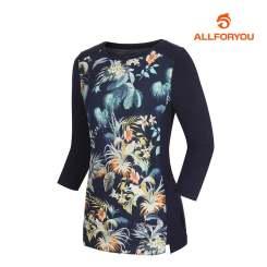 [올포유]여성 전판 프린트 티셔츠 AWTRJ5157-915_G