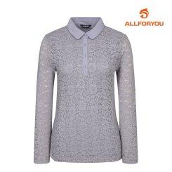 [올포유]여성 레이스 카라 티셔츠 AWTYJ5155-930_G