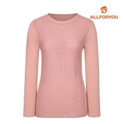 [올포유]여성 레이스 자수 티셔츠 AWTRJ5153-403_G