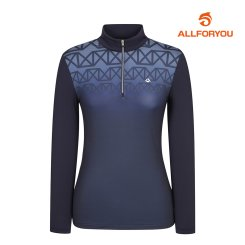 [올포유]여성 냉감소매 반집업 티셔츠 AWTHJ5116-915_G