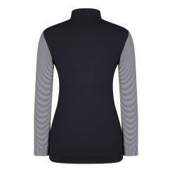 [올포유]여성 줄무늬 집업 티셔츠 AWTHJ5112-915_G