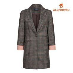 [올포유]여성 글렌 체크 자켓 AWKKJ5462-190_G