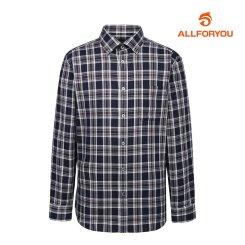 [올포유]20FW 남성 체크 긴팔 셔츠 AMBSJ3654-915_G