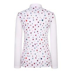 [올포유]여성 포인트 카라 티셔츠 AWTYI5110-100_G