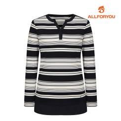[올포유]여성 스트라이프 티셔츠 AWTRI5157-915_G