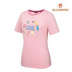 [올포유]여성 프린팅 반팔 티셔츠 AWTRJ6122-403_G