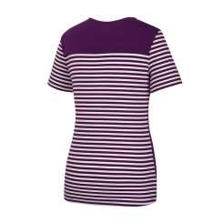 [올포유]여성 줄무늬 반팔 티셔츠 AWTRJ6159-604_G