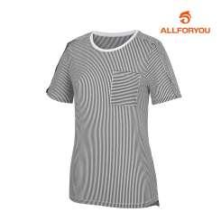 [올포유]여성 줄무늬 반팔 티셔츠 AWTRH6154-199_G