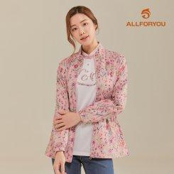 [올포유]21SS 여성 플라워 패턴 점퍼 AWJUK2361-403_G