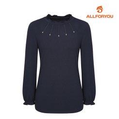 [올포유]21SS 여성 넥장식 티셔츠 ALTRK1311-915_G