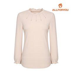 [올포유]21SS 여성 넥장식 티셔츠 ALTRK1311-509_G