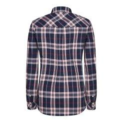 [올포유]21SS 여성 자수 체크 셔츠 ALBLK1421-915_G