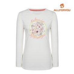 [올포유]21SS 여성 트임 티셔츠 ALTRK1131-100_G