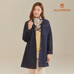 [올포유]21SS 여성 카라 데님 자켓 ALKKK1441-915_G
