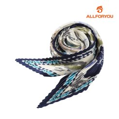 [올포유]21SS 여성 패턴 주름 스카프 ALAMK1311-915_G