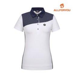 [올포유]여성 카라 반팔 티셔츠 AWTYH6103-100_G