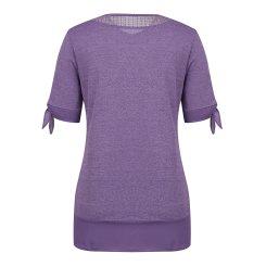 [올포유]여성 레이스 반팔 티셔츠 AWTRJ6172-607_G