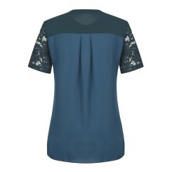 [올포유]여성 레이스 반팔 티셔츠 AWTRI6154-804_G