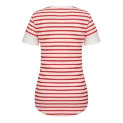 [올포유]여성 줄무늬 반팔 티셔츠 AWTRH6R62-500_G