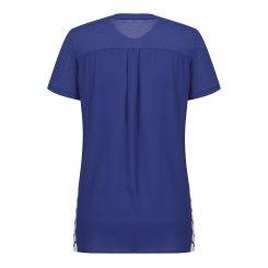 [올포유]여성 매쉬 패치 반팔 티셔츠 AWTRH6159-906_G