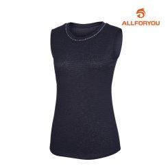 [올포유]여성 넥장식 민소매 티셔츠_AWQTI6194-915_G