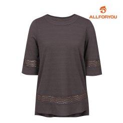 [올포유]여성 자수 디테일 티셔츠 AWTRI6153-505_G