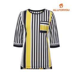 [올포유]여성 스트라이프 티셔츠 AWTRH6R65-915_G
