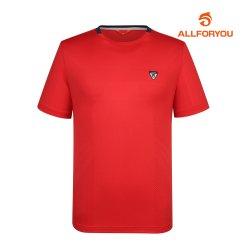 [올포유]남성 라운드 반팔 티셔츠 AMTRH2131-500_G