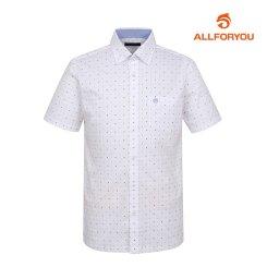 [올포유]남성 패턴 반팔 셔츠 AMBSH2R54-100_G