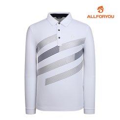 [올포유]남성 사선 카라 티셔츠 AMTYI3142-100_G
