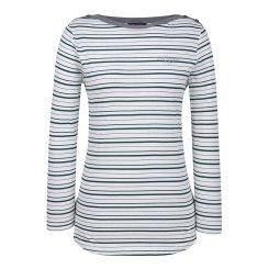 [올포유]여성 줄무늬 보트넥 티셔츠 AWTRH7157-804_G
