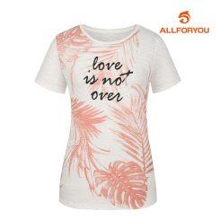 [올포유]여성 트로피컬 반팔 티셔츠 AWTRH7156-403_G