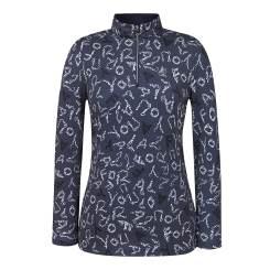 [올포유]여성 패턴 반집업 티셔츠 AWTHI7101-915_G