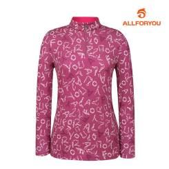 [올포유]여성 패턴 반집업 티셔츠 AWTHI7101-403_G