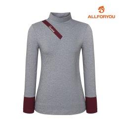 [올포유]여성 하이넥 레이어 티셔츠 AWTHJ7141-190_G