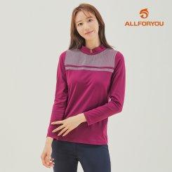 [올포유]21FW 여성 하프넥 티셔츠 AWTHK8271-604_G
