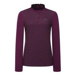 [올포유]21FW 여성 셔링 터틀 티셔츠 AWTHK7361-604_G