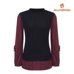 [올포유]21FW 여성 라운드 티셔츠 ALTRK8121-915_G