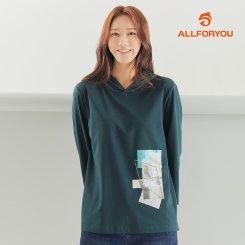 [올포유]21FW 여성 후드 티셔츠 ALTRK8111-819_G